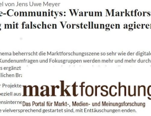 Online Research Community: marktforschung.de veröffentlicht Innolytics-Fachartikel