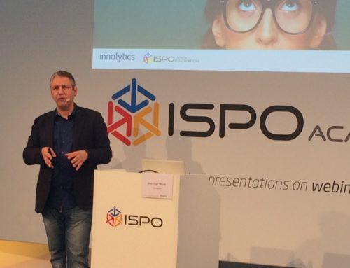 Vorstellung der Innolytics Plattform auf der ISPO Munich