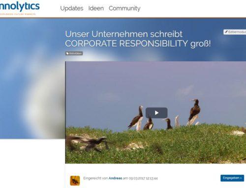 Neu: Videofunktion in Innolytics Plattformen