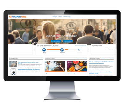 Innolytics Ideas Ideenmanagement-Software Desktop