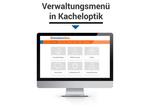 Innolytics-Ideenmanagement-Verwaltungsmenu