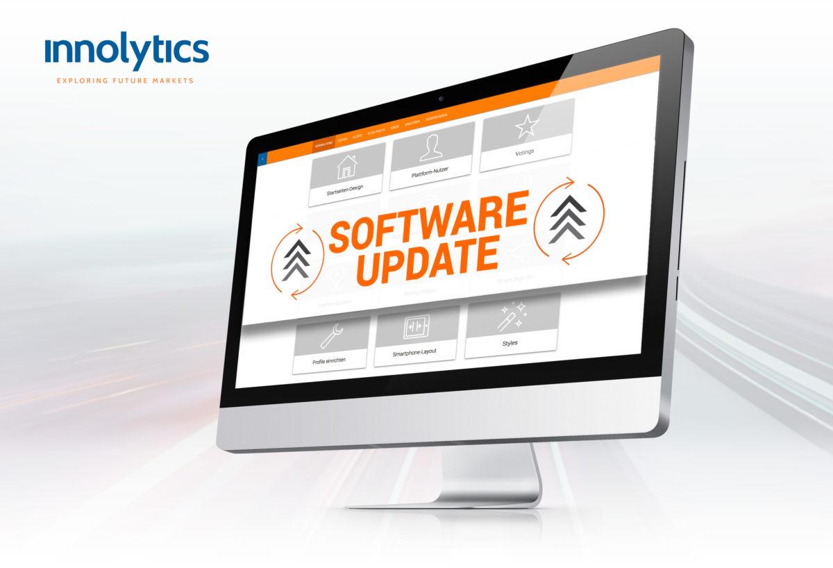 Innolytics Ideenmanagement-Software Update