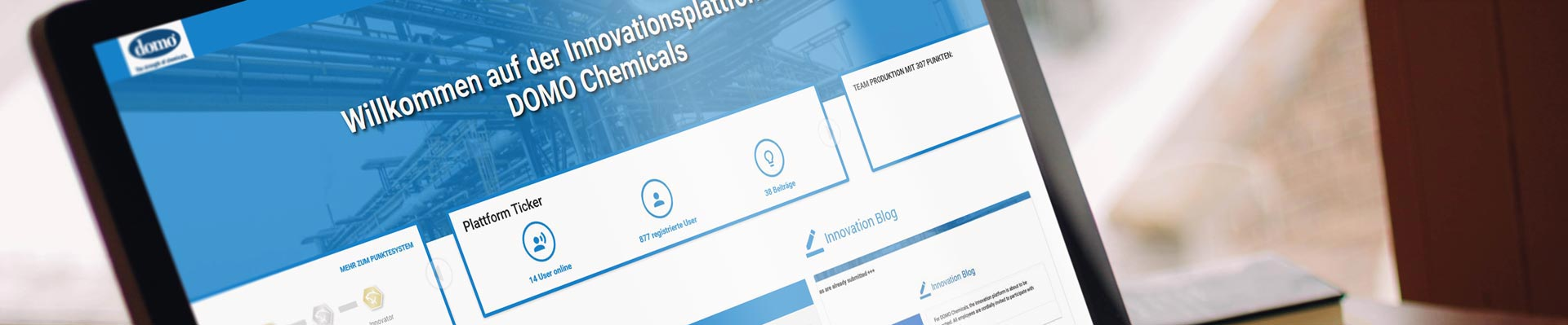 Innovationsmanagement-Software Case Study Domo Chemicals