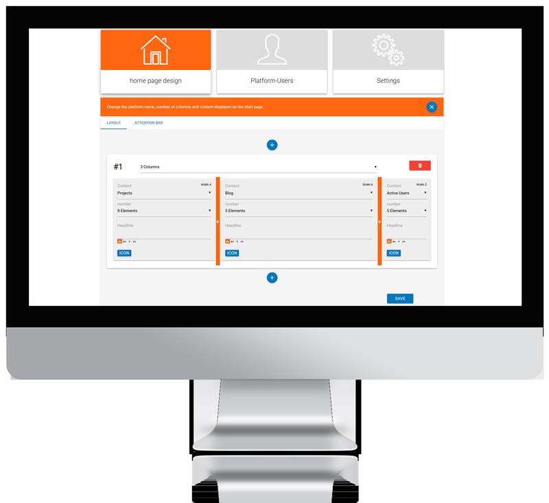 idea management software layout