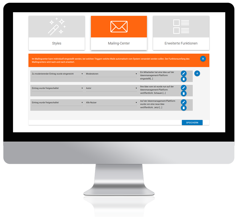 Ideenmanagement-Software Mailingcenter
