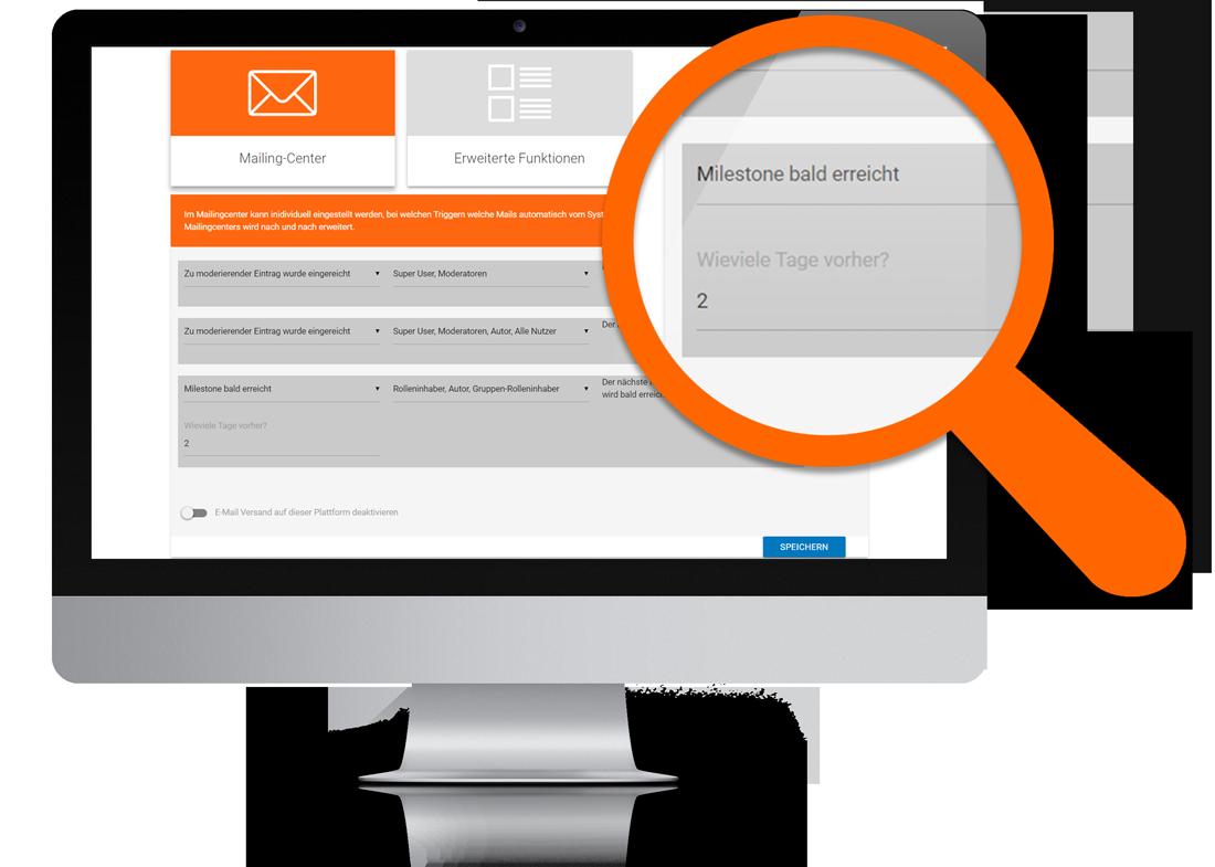 Innolytics Mailing-Center Meilenstein