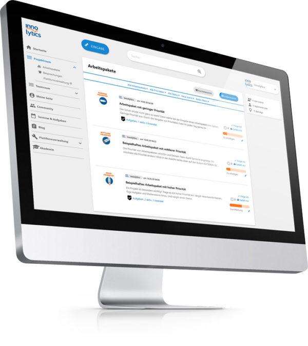 Collaboration-Software-Innolytics-Arbeitsraum