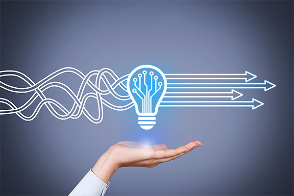 Die Abbildung zeigt einen Anwendungsfall der Innolytics Workflow-Software: Ideenmanagement.