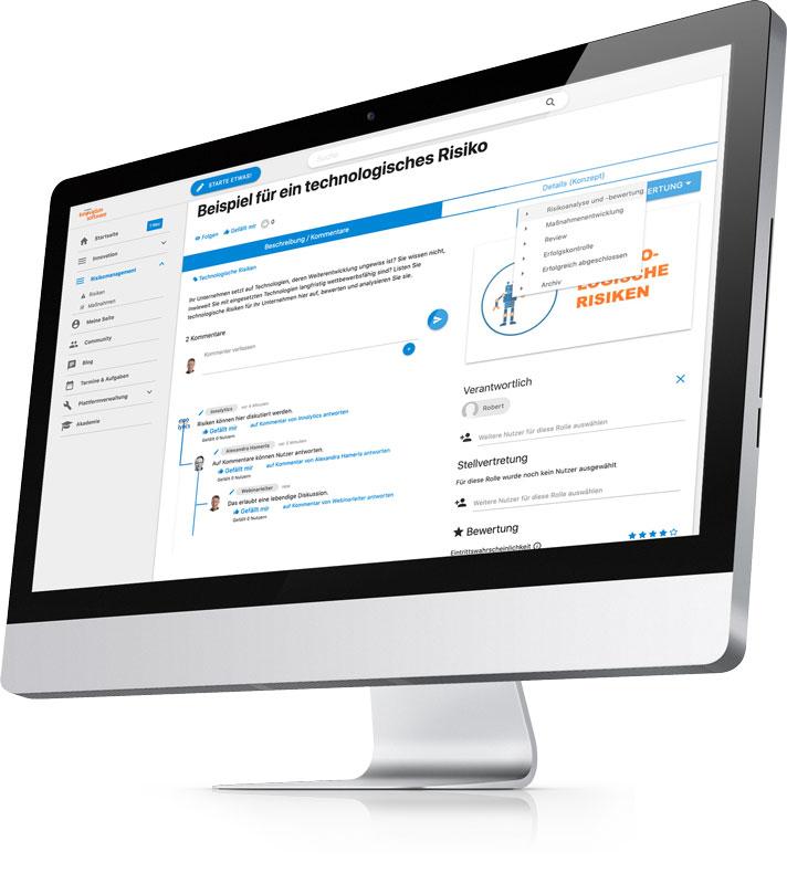 Risikomanagement-software-risiko-Ansicht-Beitrag