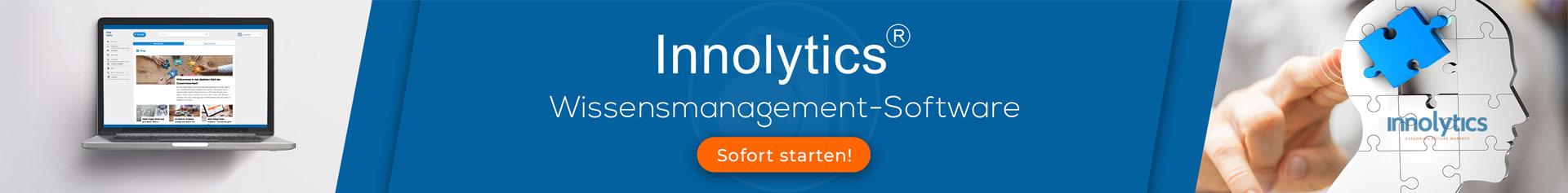Die Abbildung zeigt Software für die Umsetzung von Wissensmanagement im Unternehmen